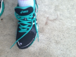 running sneak
